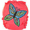 Applique Diaper - Butterfly