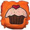 Applique Diaper - Cupcake