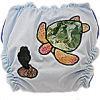 Applique Diaper - Sea Turtle