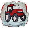 Applique Diaper - Tractor