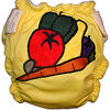 Applique Diaper - Vegetables