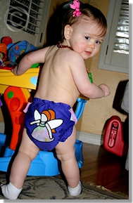 Cloth Diaper Picture - I Do Believe in Fairies