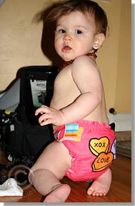 Cloth Diaper Picture - Sweetheart