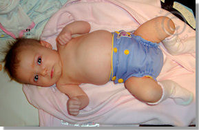 Cloth Diaper Picture - Newborn Fluffiness