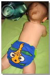Cloth Diaper Picture - Blub!